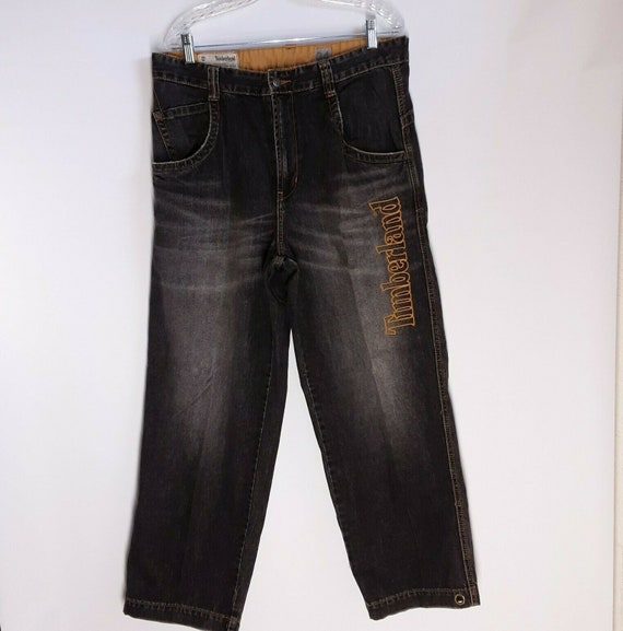 Vintage Timberland  men's Jeans Size 34 Embroidere