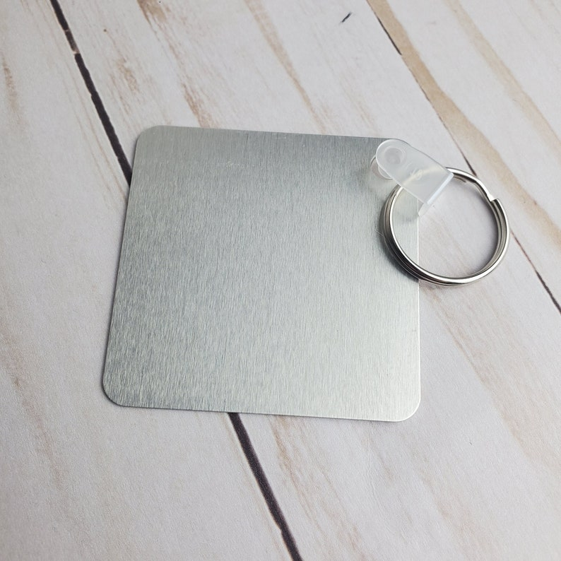 One-Sided Aluminum Keychain Handsome dad  Gifts for dad  Keyring accessories  Unique gifts  Fathers day Graphic Keychain Decor