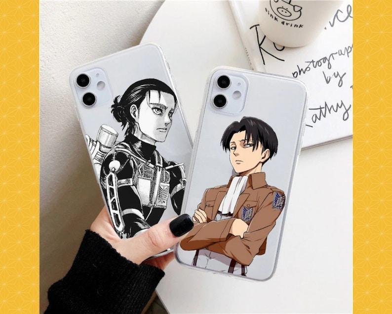 Anime Japanese Attack On Titan Phone Case For Iphone 12 Mini 11 Pro Xs Max 8 7 Plus X Se2020 Xr Soft Tpu Fundas Coque Case