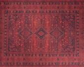 Rugs 9x12, Red Oriental Rug 9x12, Large Turkish Rug 9x12, Vintage Look Rug 9x12, Large Kilim Rug 9x12, Area Rug 9x12, Oushak Rug 9x12, Rugs
