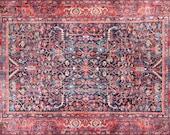 Rugs 5x8, Red Rug 5x8, Turkish Rug 5x8, Oriental Rug 5x8, Kilim Rug 5x8, Heriz Rug 5x8, Living Room Rug Large, Area Rug 5x8, Turkish Kilim