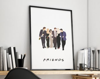 Friends Print 02 – Wedding Print – TV Printable Poster