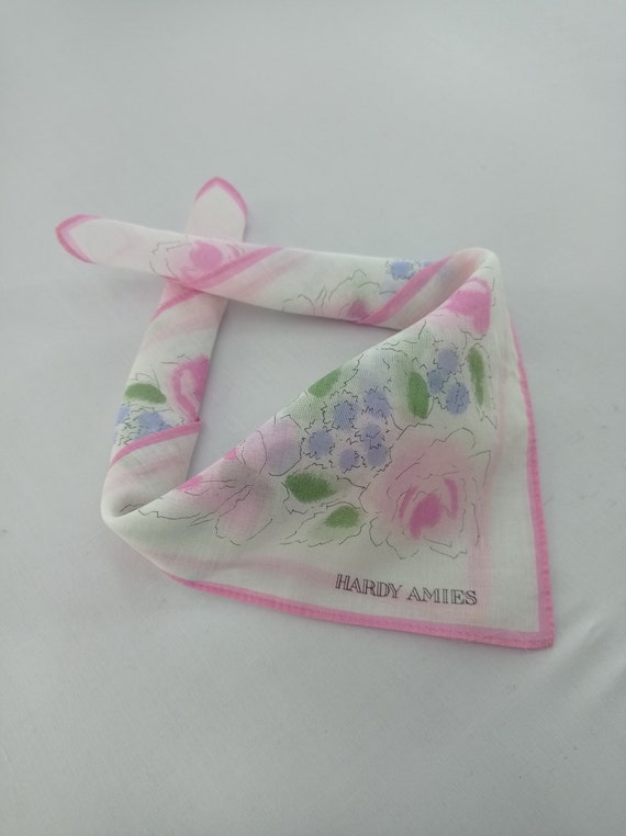 Hardy Amies Handkerchief Neckerchief Bandana Headb