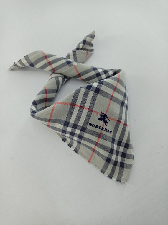 Burberry Handkerchief Neckerchief Bandana Headband