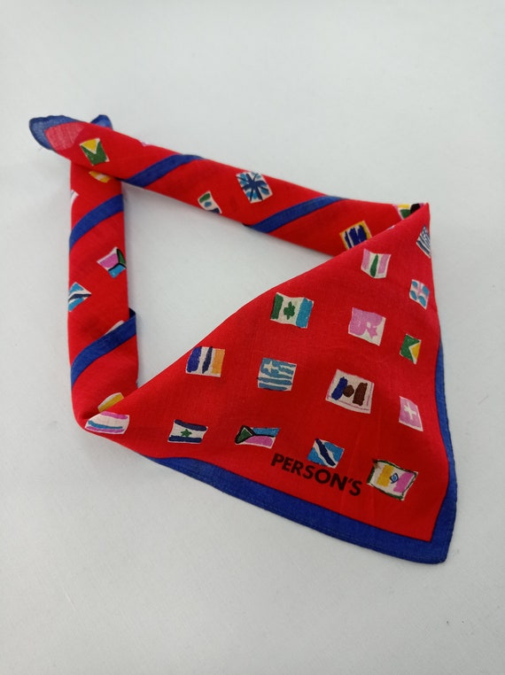Persons Handkerchief Neckerchief Bandana Headband