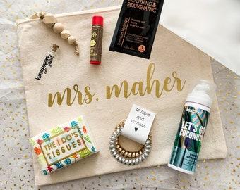 Honeymoon bridal shower gift