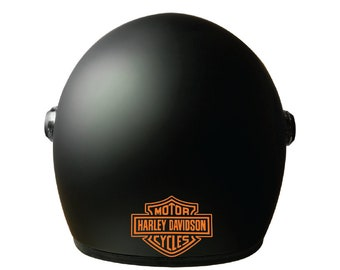 Harley Full Logo Decal - For Helmets, Cars windows, Decal - Harley Davidson