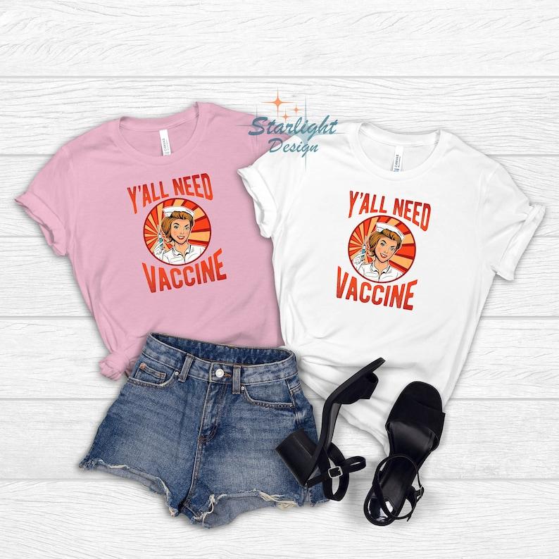 Gearhuman – You All Need Vaccine T-Shirt Vaccinate Shirt Vaccinated Tee – 3D Tshirt – TH-0070