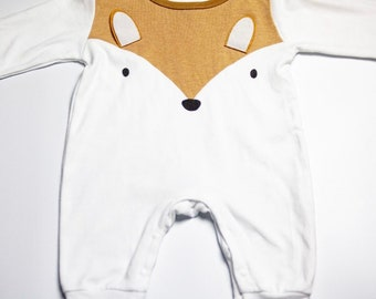 100% Organic Cotton Romper - Felix The Fox