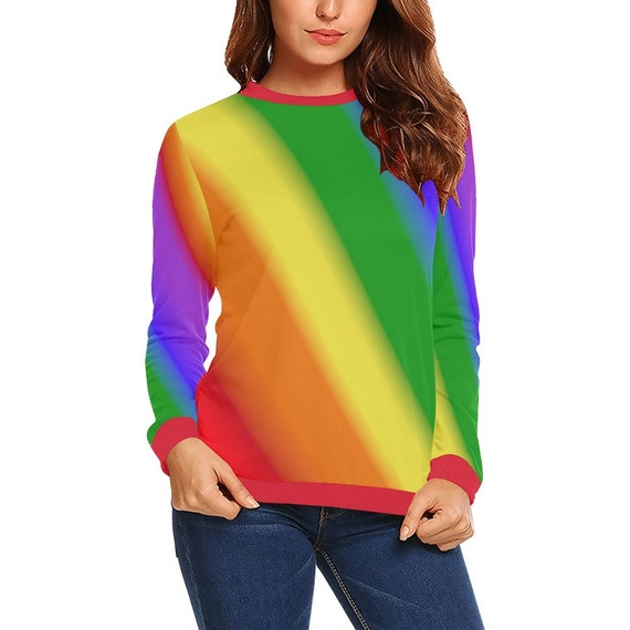 Discontinued!! .. Discontinued!! .. Rainbow Women's Long Sleeve Shirt