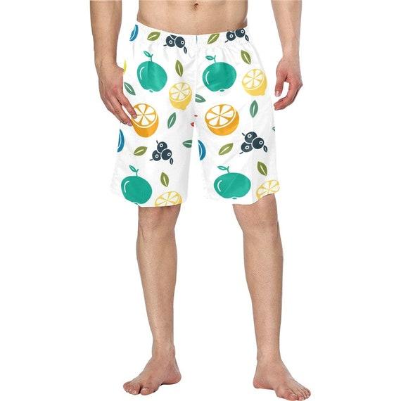 Summer Fruit Men's Swim Trunks