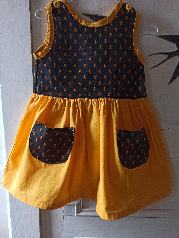 Ärmelloses kleid mädchen 4 jahre baumwolle stil