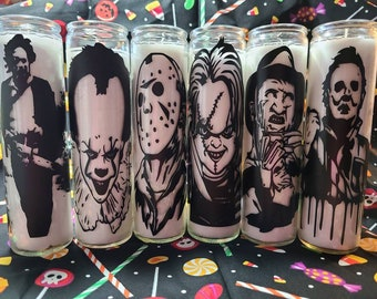 Horror Movie Candles