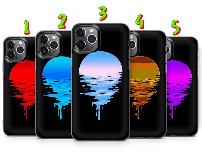 Samsung S10 Lite Huawei P20 P30 Pro Sunset Phone Case Cover fit for iPhone 12 A50 11 Pro XS 8+ XR S21 S20 A51