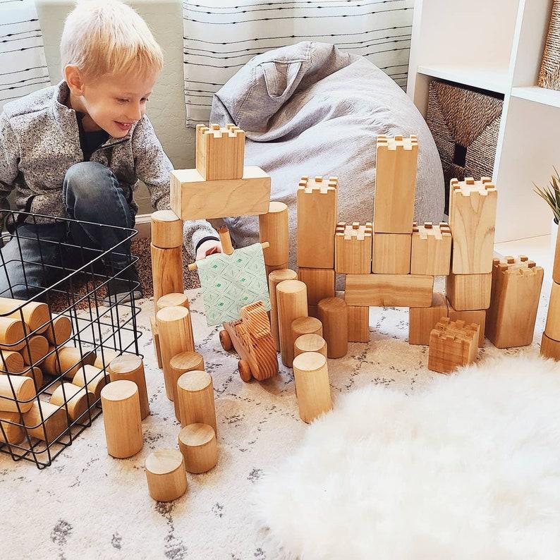 Jumbo Wood Blocks