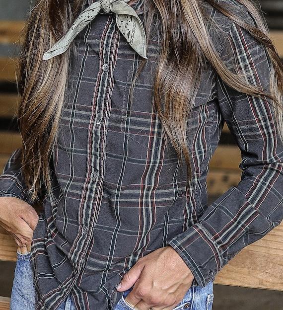 Women's Filson Cotton Button Down