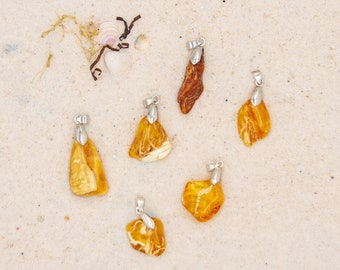 Viking jewelry necklace large Baltic amber amber pendant trinket unique unique great gift idea lover piece