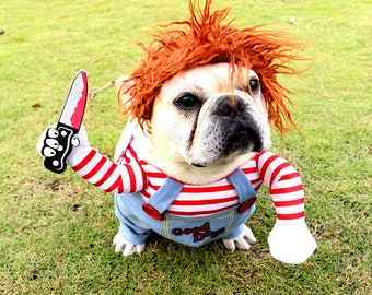 Halloween Pet Costume Adjustable Dog Cosplay Costume
