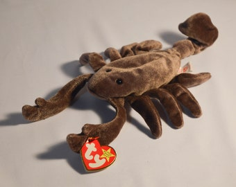 Mint Condition Ty Beanie Baby Stinger The Scorpion 1997