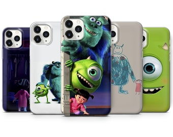 Monsters  Phone Case Cartoon  Cover for7, 8+, XS, XR, 11, 12 Pro Max, 12 mini, SE, A20, A51, Galaxy S21, S20, P30, P40 lite