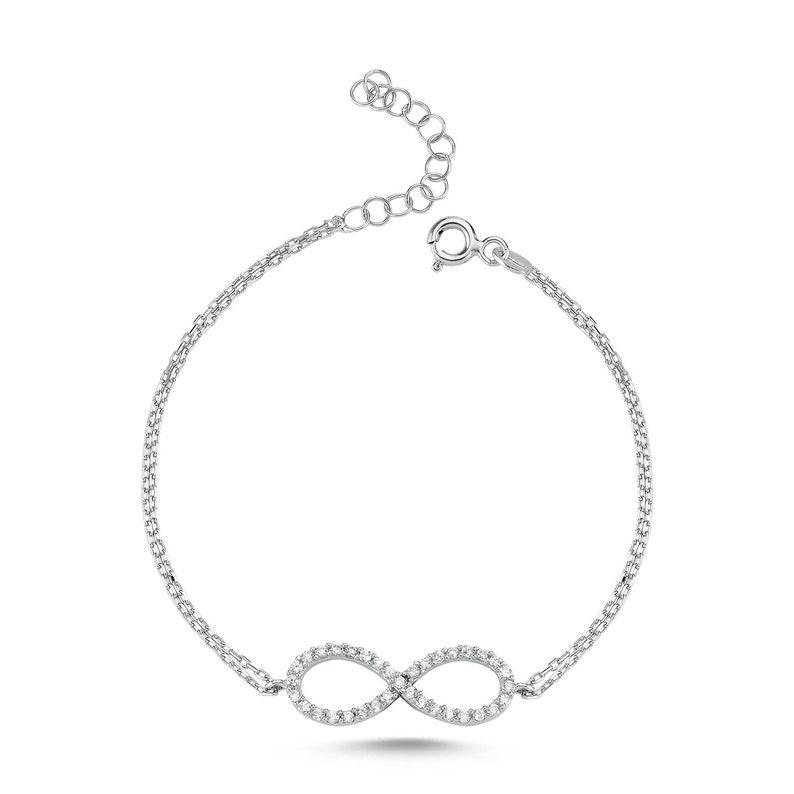 Infinity Wristband Stoned-