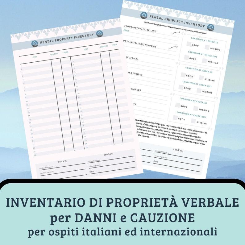 INVENTARIO LOCAZIONE editabile  PDF digitale image 0