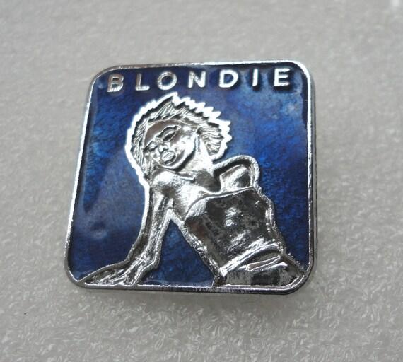 Pre-Owned Used Vintage Blondie Debbie Harry Enamel