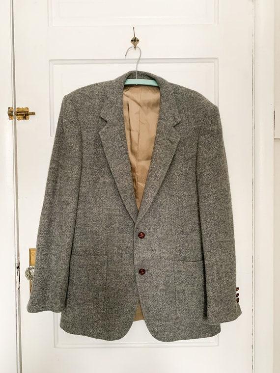 Mens Vintage Wool Coat