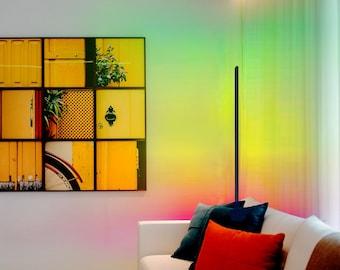 Corner Lamp, Minimalist Led Corner Floor Lamp Uk