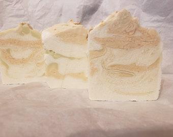 Honeysuckle Handcrafted extra moisturizing soap bar 4.5-4.7oz