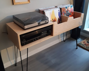 Modern Turntable Console