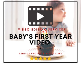 1st Birthday Personalized Video, Video Editing