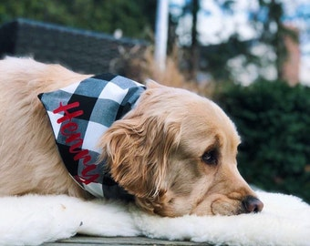Outdoors Dog Bandana Pet Neckwear Pet Supplies Dog Collar Canadian made dog collar Canada Dog Bandana Nature Bandana Dog Bandana