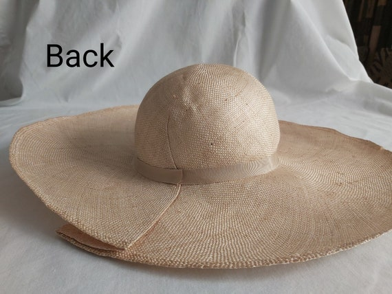 Laura Ashley  Vintage Straw Hat