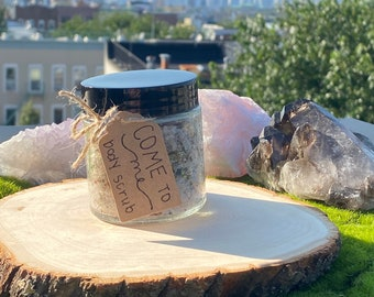 COME TO ME body scrub, attraction spell, glamour magick, witchcraft