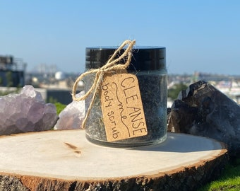 CLEANSE ME body scrub, witchcraft, cleansing spell