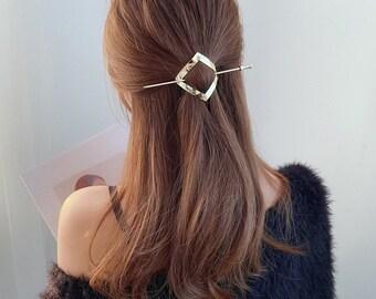 Bling Crystal Diamond Hair Clip Hairpin Barrette Slide Grips Headpiece