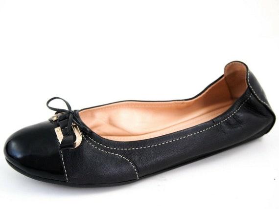 Bally Tassel Ballet Flats