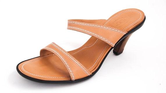 Tod's Medium Heel Sandals