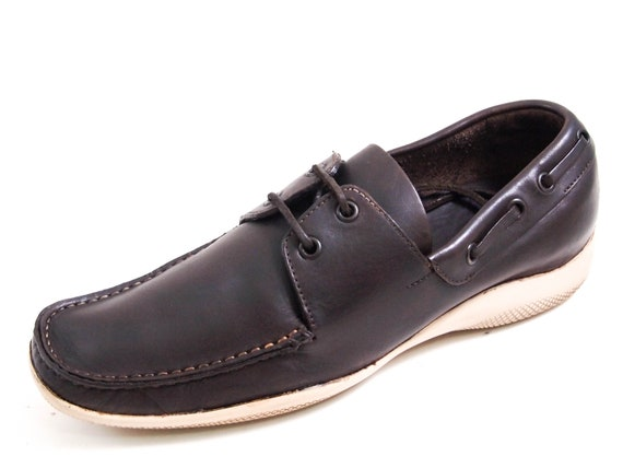 Prada Derby Boat Shoes