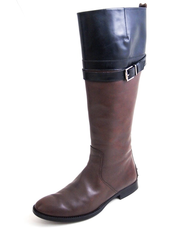 Tod's Knee High Riding Boots
