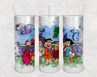 The Flintstones  Digital Template