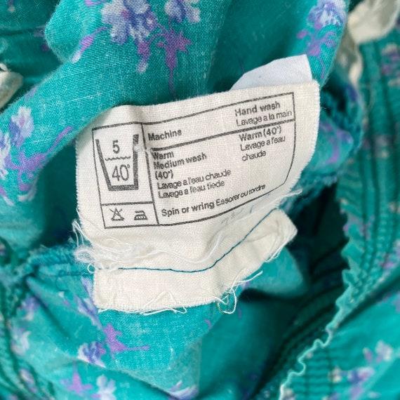 Vintage Laura Ashley Skirt 1970's Three Tiered Ru… - image 10