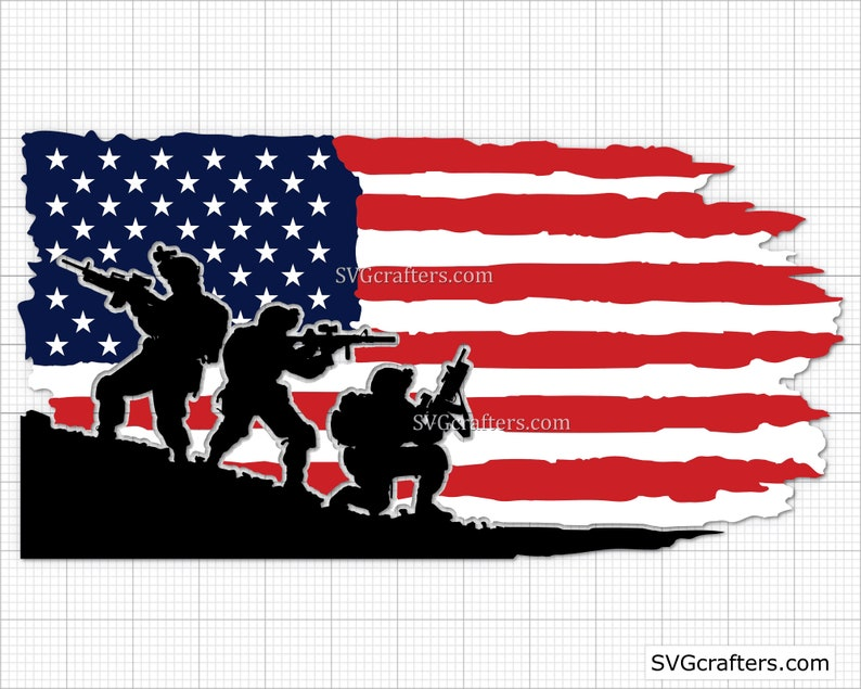 fourth of july svg 4th of July svg Cricut /& Silhouette American flag svg grunge flag svg Distressed flag svg Printable patriotic svg