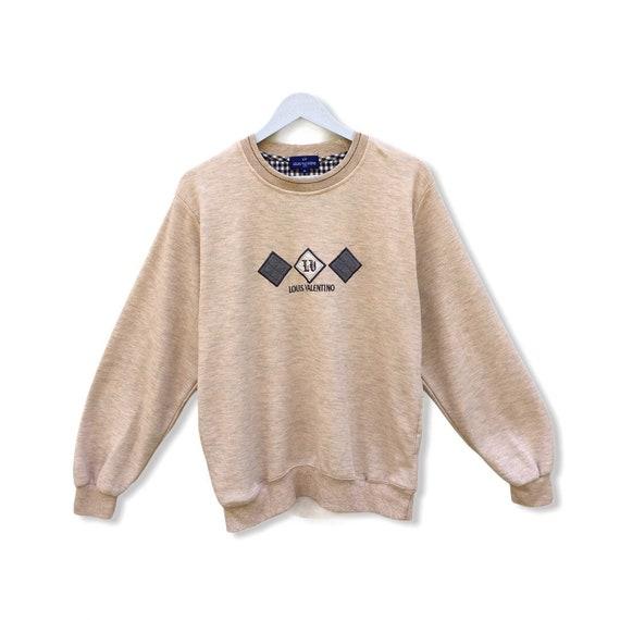 Pick !! Vintage 90s Louis Valentino Sweatshirt Lo… - image 1