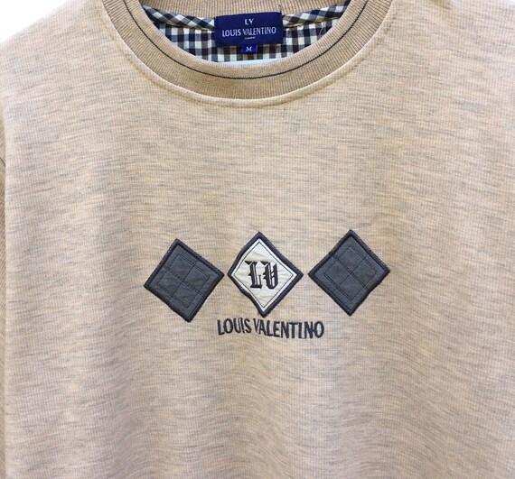 Pick !! Vintage 90s Louis Valentino Sweatshirt Lo… - image 4