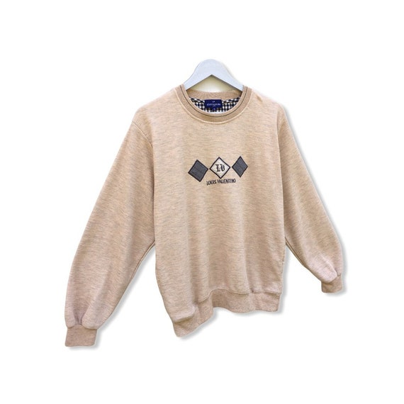 Pick !! Vintage 90s Louis Valentino Sweatshirt Lo… - image 3