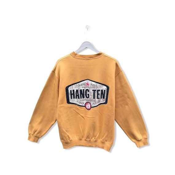 Pick !! Vintage 90 Hang Ten Surf Sweatshirt Hang T