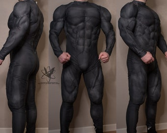 Suit with muscles Batman Rebirth finished batsuit for cosplay costume Bruce Wayne musclesuit DC Comics