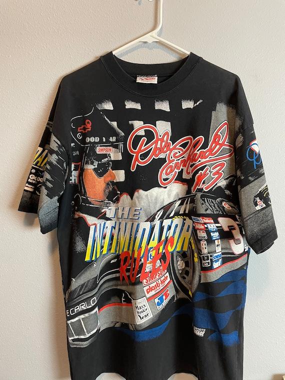 Vintage 90's Dale Earnhardt all over print nascar